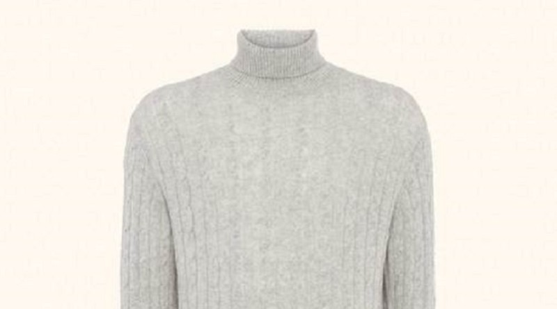 N Peal Cable Roll Neck Sweater James Bond SPECTRE