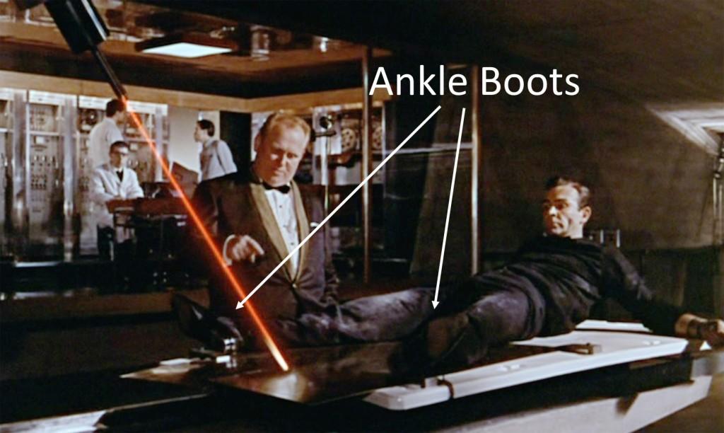 affordable James Bond footwear