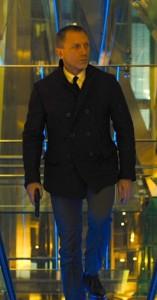 Affordable Bond wardrobe pea coat