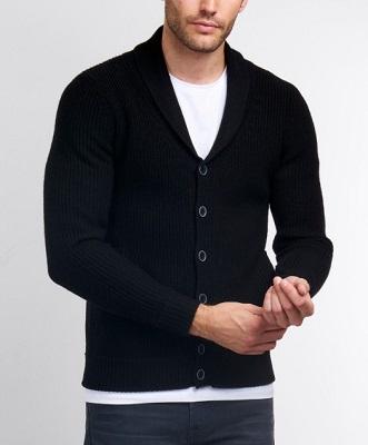 Quantum Of Solace Black Shawl Collar Cardigan Iconic Alternatives
