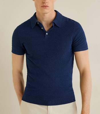 Daniel Craig James Bond Tom Ford Banded Hem Johnny Collar Polo SPECTRE