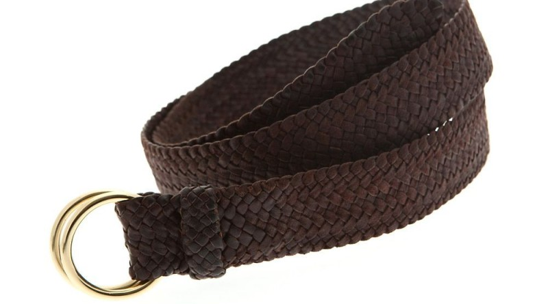 RM Williams Plaited Leather Belt Daniel Craig