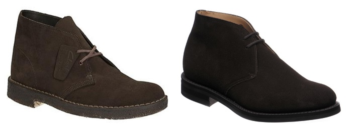 James Bond style suede boots