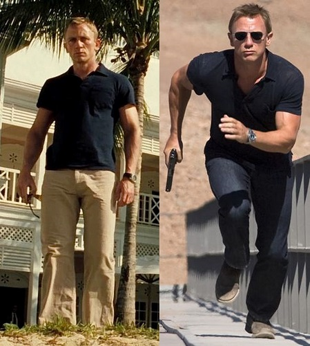 how to dress like James Bond how clothes should fit