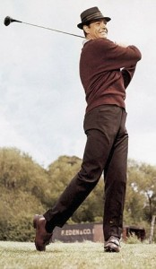 James Bond Goldfinger Golf Sweater