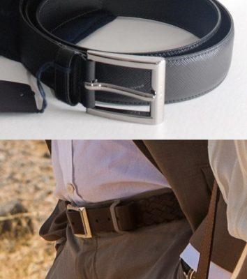 James Bond style belts