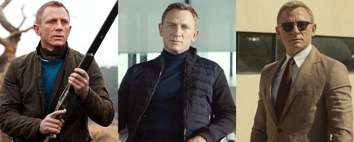 how to dress like James Bond using colors