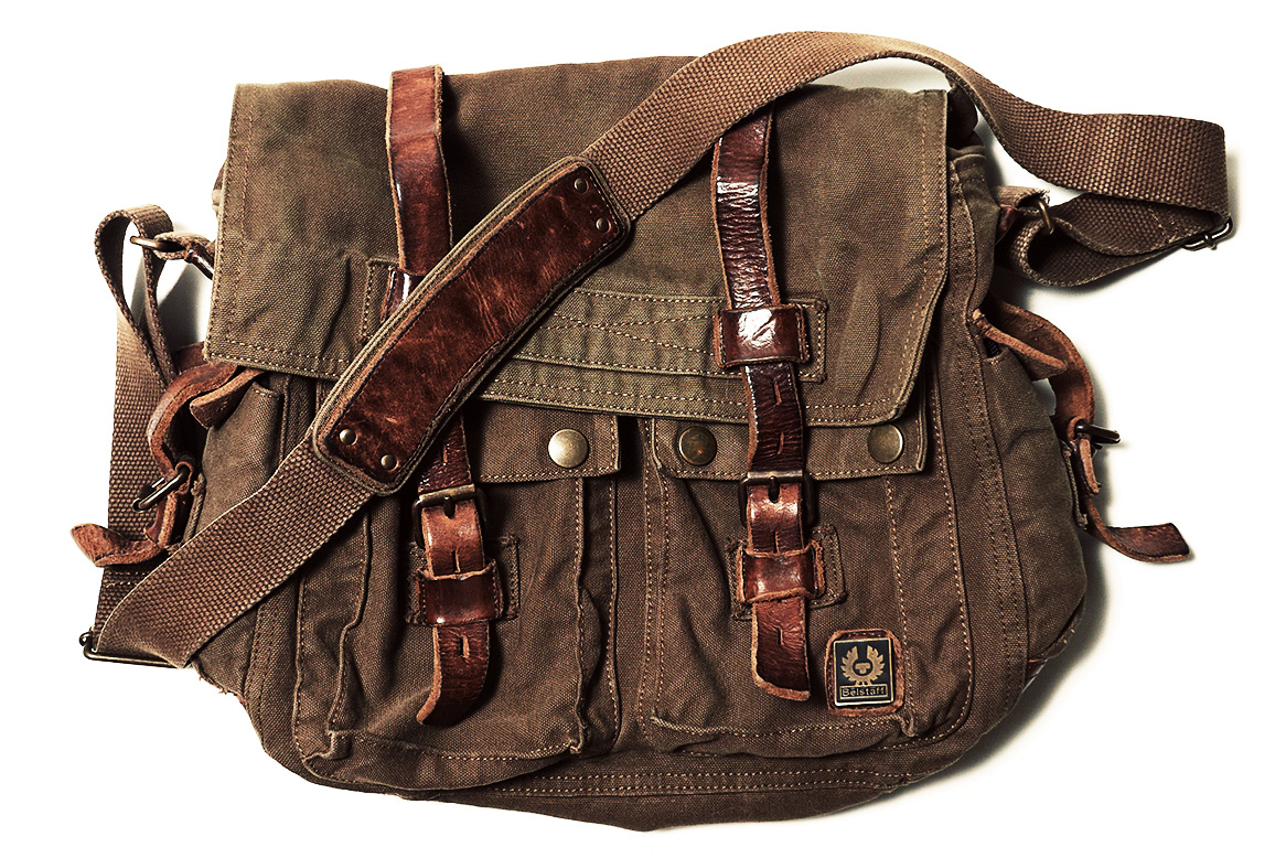 cf80c216f4 Belstaff 554 Colonial Messenger Bag - Iconic Alternatives