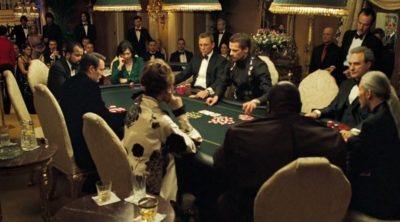 James Bond poker night