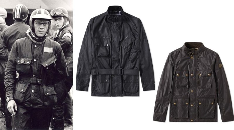 a70f6f62b0 The Steve McQueen Waxed Motorcycle Jacket - Iconic Alternatives