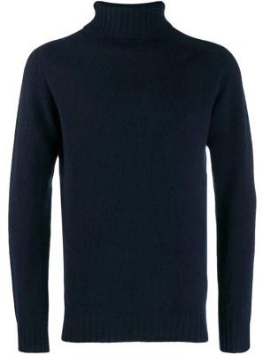 alternatives Steve McQueen Bullitt navy rollneck sweater