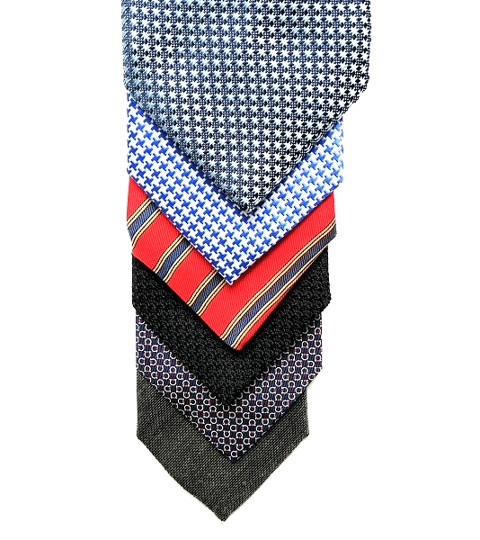 Aklasu limited edition Orbis James Bond grenadine tie