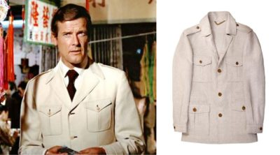 James Bond safari jacket affordable alternatives