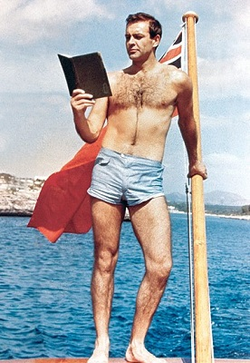 Sean Connery Woman of Straw swim shorts