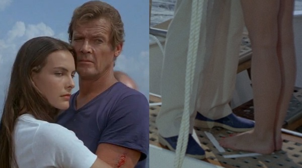 Roger Moore For Your Eyes Only espadrilles
