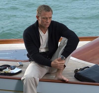 Daniel Craig Casino Royale Venice Yacht