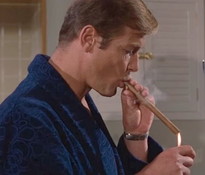 Roger Moore Live and Let Die Dressing Gown
