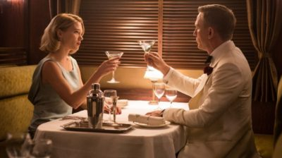 Bond style romantic evening