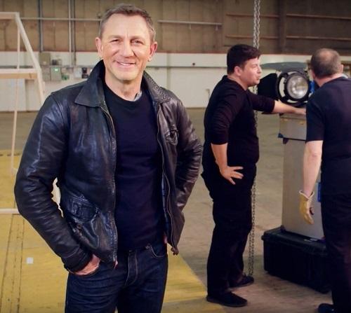 Daniel Craig Bond 25 Omaze Campaign Belstaff Jacket