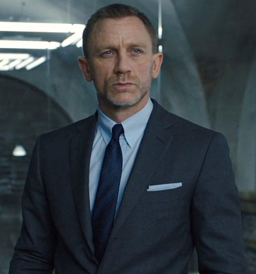 Daniel Craig James Bond Skyfall glen plaid suit
