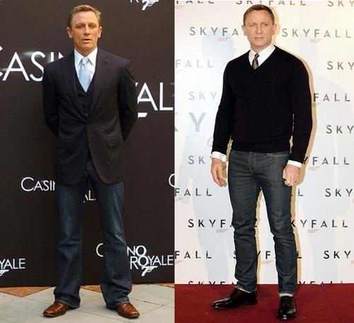 Daniel Craig personal style