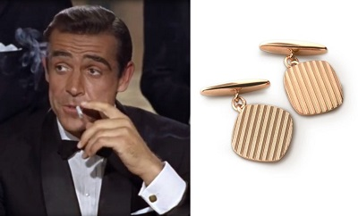 James Bond Dr No cufflinks