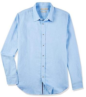 affordable James Bond SPECTRE blue linen shirt