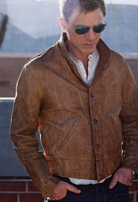 Daniel Craig Leather Jacket
