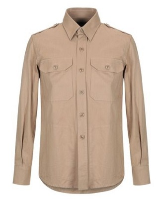 James Bond military style utility shirt