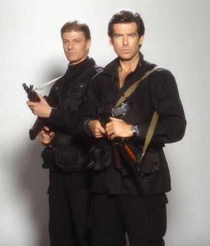 Pierce Brosnan Goldeneye James Bond military style jacket