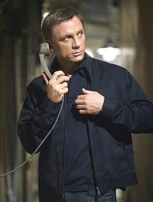 Daniel Craig James Bond Quantum of Solace Tom Ford jacket