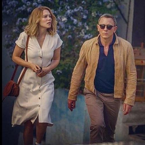 Daniel Craig James Bond Matchless SPECTRE jacket