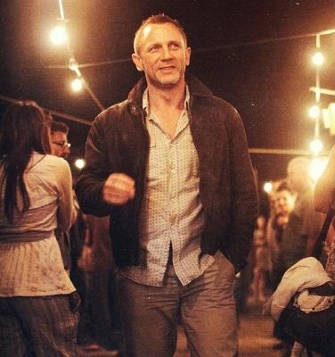 Daniel Craig James Bond Skyfall Levis Menlo Leather Jacket