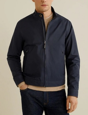 affordable budget James Bond Harrington jacket