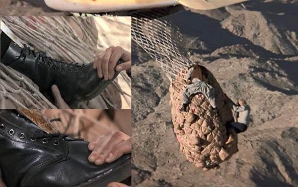 James Bond military style combat boots Dr. Marten Docs