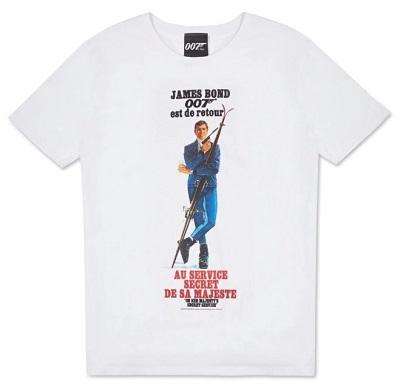 007 Store On Her Majesty's Secret Service T shirt