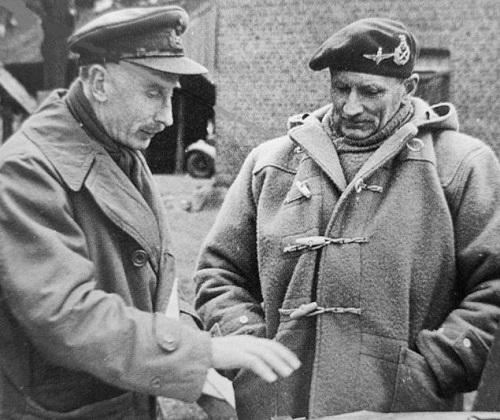Field Marshal Sir Bernard Montgomery Monty coat