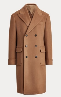 Ralph Lauren Purple Label Cashmere Overcoat