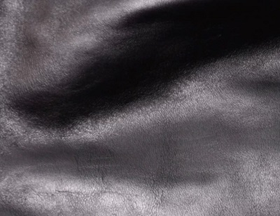 Black Horsehide leather