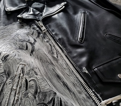 How to break in a heavyweight leather jacket