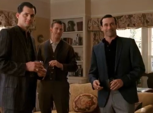 Don Draper casual weekend style