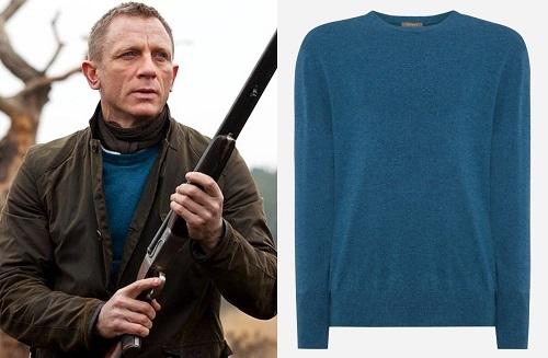 Daniel Craig James Bond Skyfall Scotland N.Peal sweater
