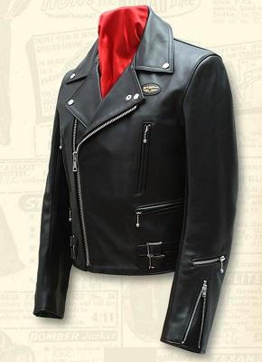 Black Leather Double Rider Jacket Lewis Leathers