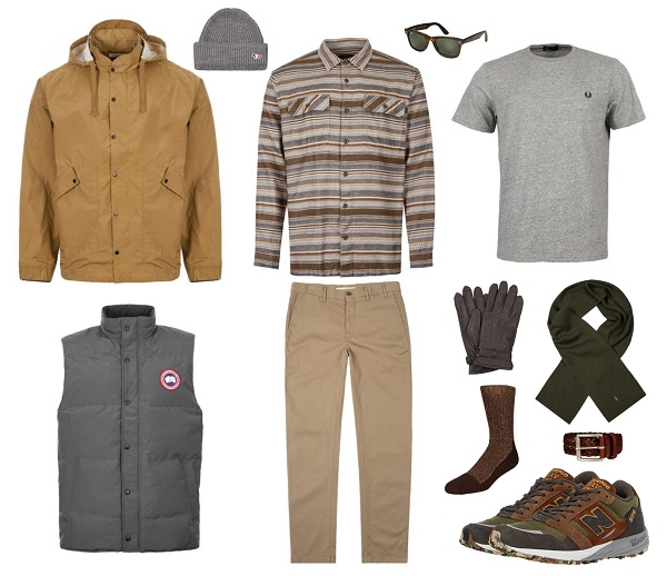 The Art of Layering casual men's style