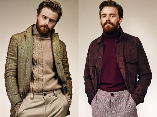 Jack Lowden Men's Style