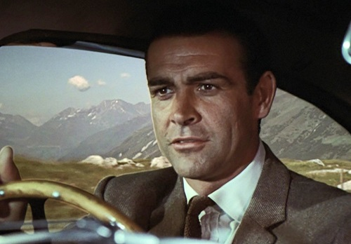 Sean Connery James Bond Goldfinger DB5